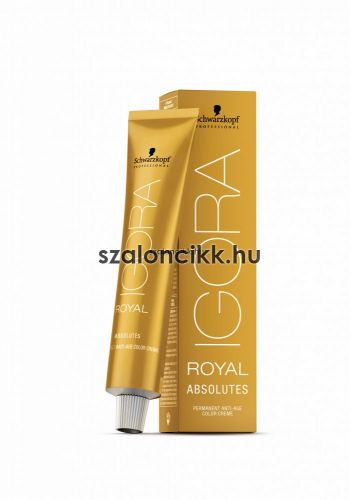 SCHWARZKOPF ROYAL ABSOLUTES HAJFESTÉK 60ML