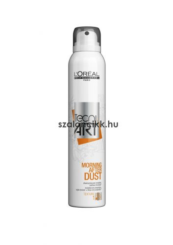 L'Oréal Tecni Art Morning After Dust száraz sampon spray -ben Force Level 1 200 ml AKCIÓ!