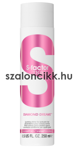 TIGI S FACTOR DIAMOND DREAMS Sampon 250 ml AKCIÓ!!!