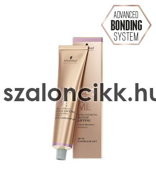 SCHWARZKOPF BLONDME LIFTING KRÉMHAJFESTÉK-SAND 60ml