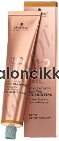 SCHWARZKOPF BLONDME HI-LIGHTING KRÉMHAJFESTÉK- COOL ROSÉ 60ml