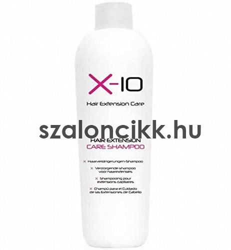 X - 10 Hair Extension Care