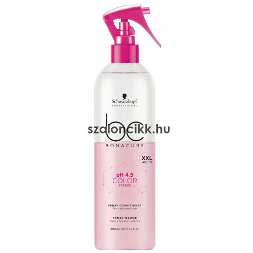 Schwarzkopf BC pH 4,5 Color Freeze Hajszínrögzítő Spraybalzsam 400ml