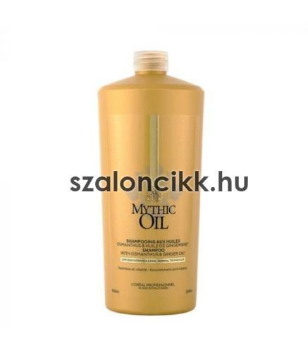 MYTHIC OIL Normal to fine hair Sampon 1000ml AKCIÓ!!! KÉSZLETHIÁNY!!!