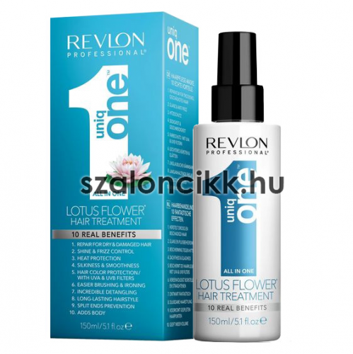 REVLON PROFESSIONAL UNIQ ONE LOTUS FLOWER HAIR TREATMENT 150ML AKCIÓ!!!