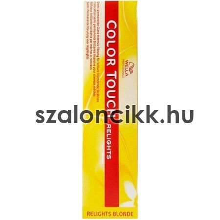 Új Wella Color Touch  Szinező -/18  60ml