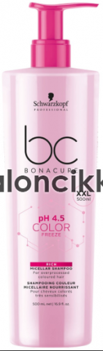 SCHWARZKOPF BONACURE COLOR FREEZE RICH Sampon 500ml KÉSZLETHIÁNY!