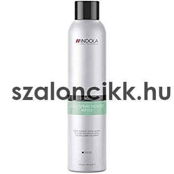 Indola Light Spray Mousse 300ml AKCIÓ !