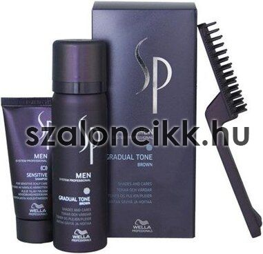 Wella SP MEN Gradual Tone Brown 60ml(hajhab)+30ml(sampon)