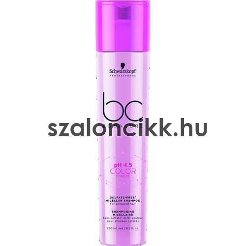 SCHWARZKOPF BONACURE Color freeze Szulfátmentes sampon 250ml