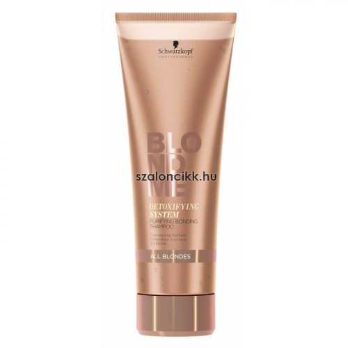 BlondMe Purifying Bonding sampon 250ml