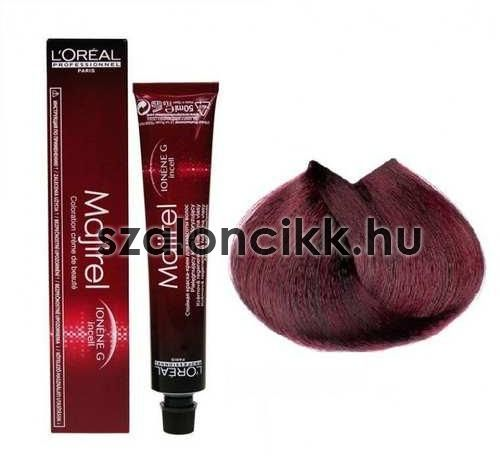 L'oreal Majirel hajfesték 5,62 Light Brown Red Irisé 50ml