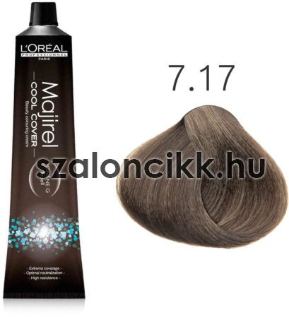 L'oreal Majirel Cool Cover 7.17 - Ash Metallic Blonde 50ml