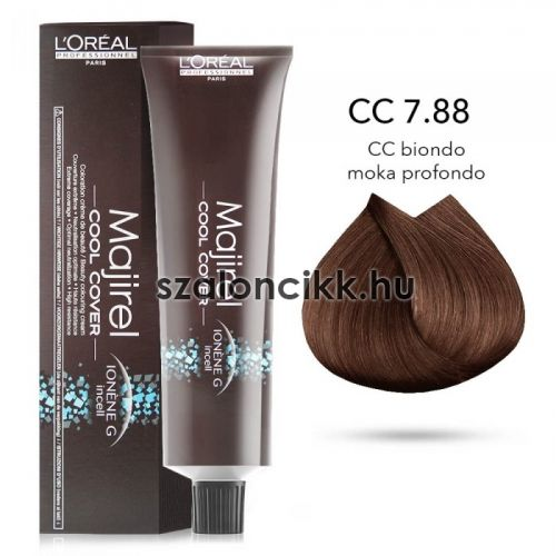 L'oreal Majirel Cool Cover 7.88 -  DEEP MOCHA BLONDE 50ml