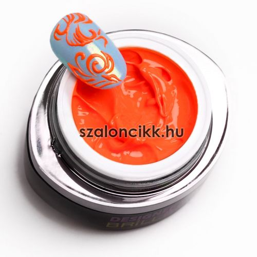 Designer gel 11- neon naracs (neon orange) 3 ml