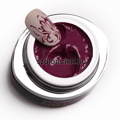 Designer gel 15- szilva (plum) 3ml