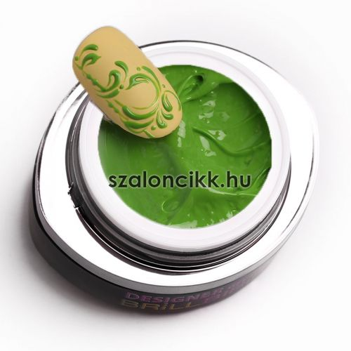 Designer gel 16- zöld (green) 3ml