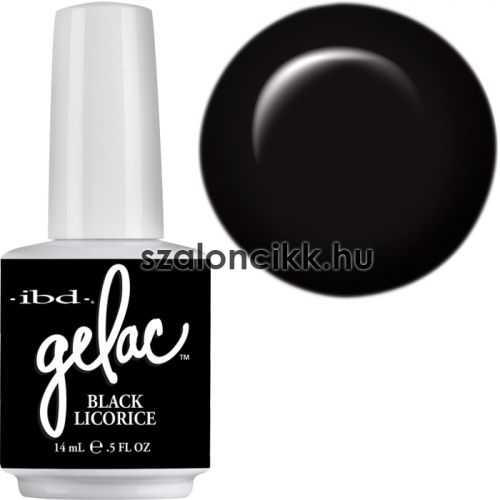 IBD Gelac 14ml Black Ricorice