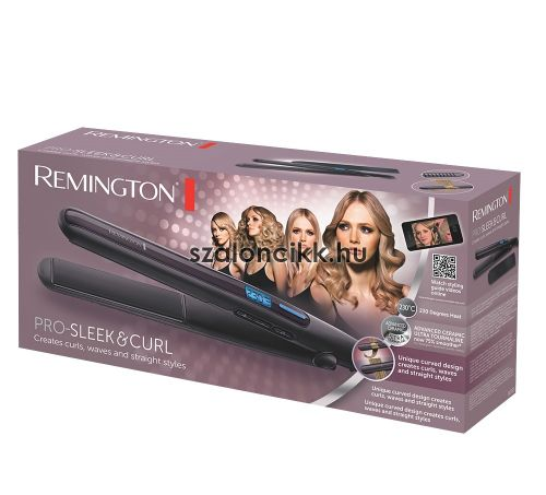 REMINGTON PRO-SLEEK & CURL S6505 Hajsimító
